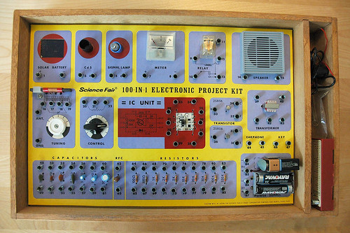 100-in-1 Electronic Project Kit | by BlazerMan