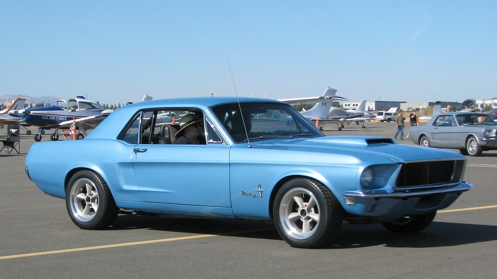 1968 Ford Mustang Coupe Custom Photographed At The