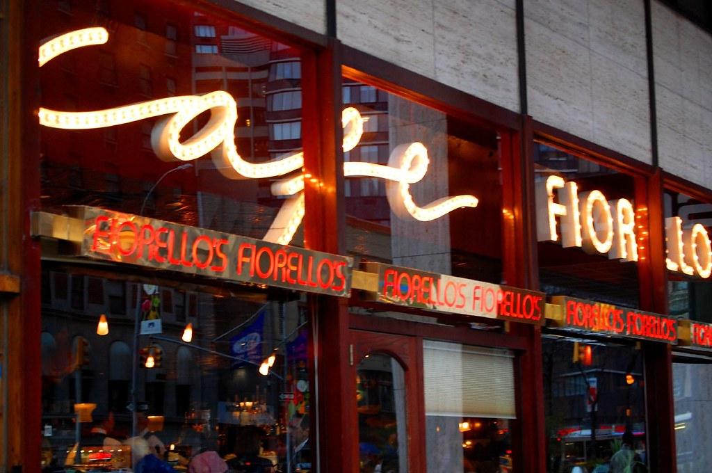 Cafe Near New World Center