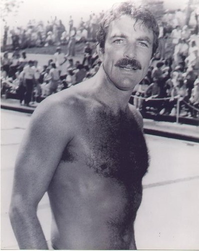 tom selleck is the hottest shirtless actor detective that