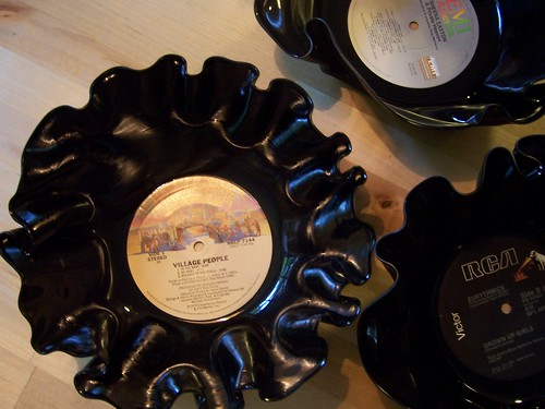 Vinyl Record Bowls.JPG | by paperseed