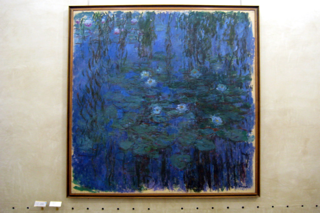 Paris Mus 233 E D Orsay Claude Monet S Nymph 233 As Bleus Flickr