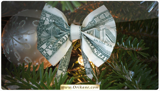 how to make a dollar tree out of bills