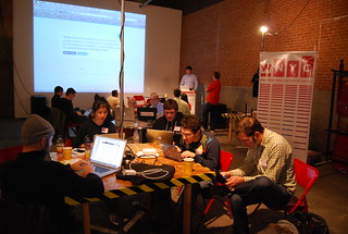 Hacks + Hackers in action! | by eyebeam