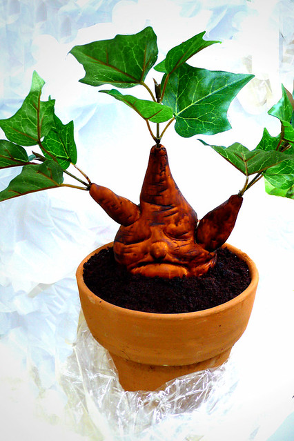Mandrake Cake 2 Professor Sprout S Chocolate Mandrake