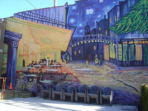Ohio >> Van Gogh mural | Short North, Columbus, OH | Lorianne DiSabato | Flickr