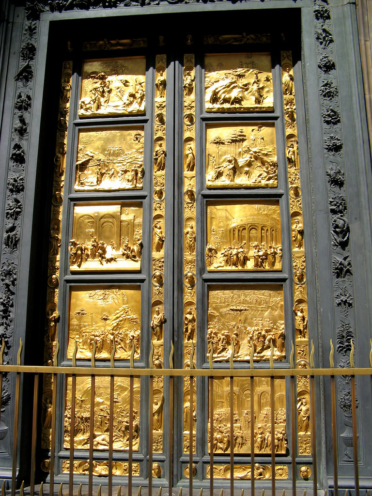 Gates Of Paradise These Panels On The Baptistery Doors