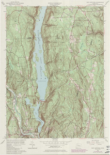 New Hartford Quadrangle 1984 - USGS Topographic Map 1:24,000 | by uconnlibrariesmagic