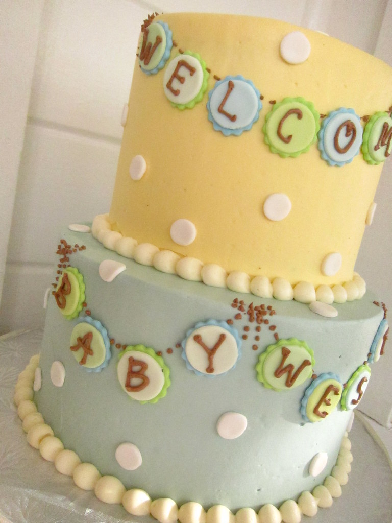 displaying 19 images for vintage baby boy shower cake