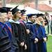 Master Advisers waiting to hood Master Candidates