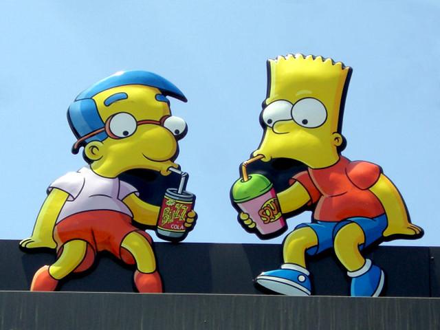 Milhouse bart chris l flickr - Bart et milhouse ...