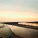 Sunset Over Gulf of Mexico Off Louisiana Coast