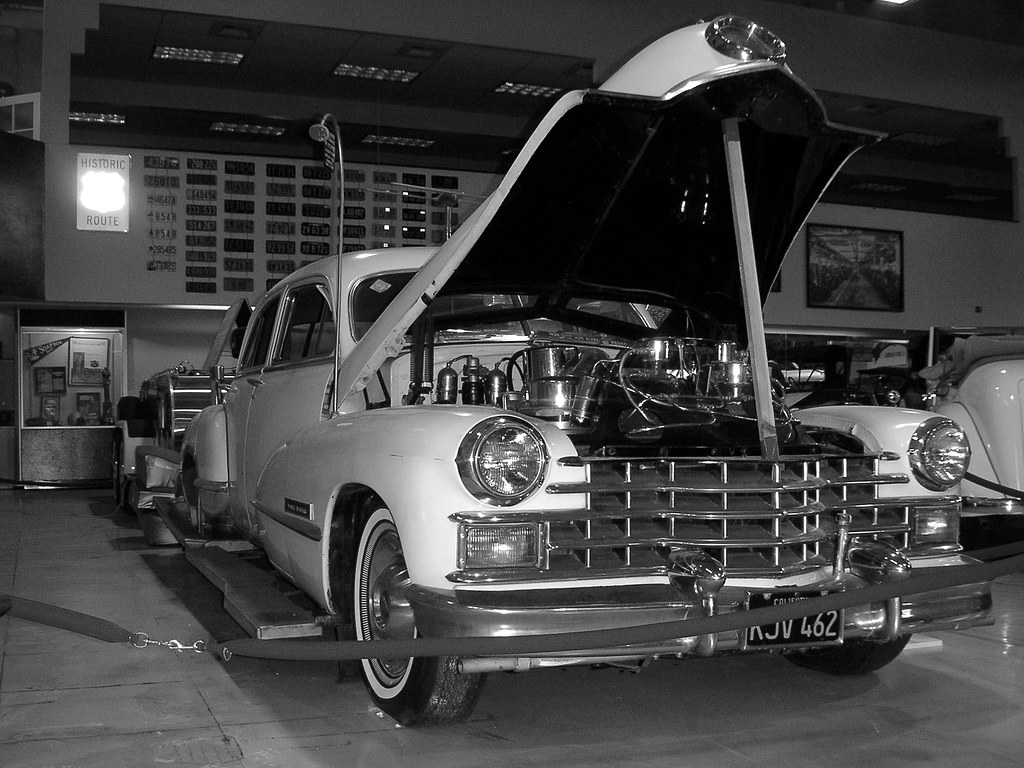 San Diego Automotive Museum: Louie Mattar's 1947 Cadillac, San Diego Automotive Museum