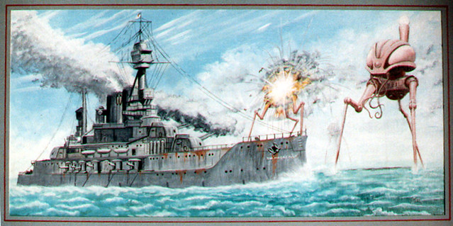 War of the worlds hms thunderchild my favorite section for World s longest video