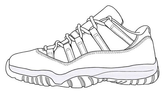 Jordan XI low leather blank.jpg | eric.hideo | Flickr