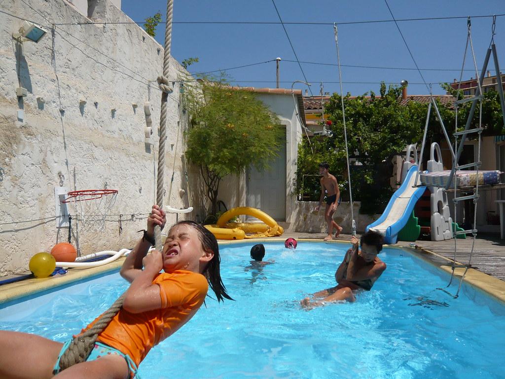 Swimming Pool Swimming Pool Scene Marseille Bouche Du Rh Flickr