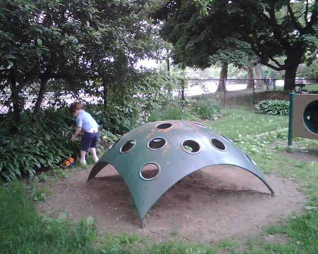 Vintage 70 S Playground Equipment In Cambridge Ma Flickr