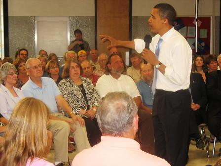 Town Hall Meeting at Berg Middle School, Newton, IA, 6/18/07 | by Barack Obama