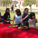 Students from University Preparation School at Goundbreaking Ceremonies for John Spoor Broome Library