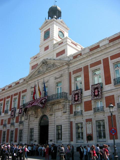 El Reloj De La Puerta Del Sol Flickr Photo Sharing