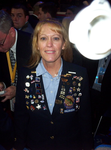 Pam Pollard at the 2004 Republican National Convention