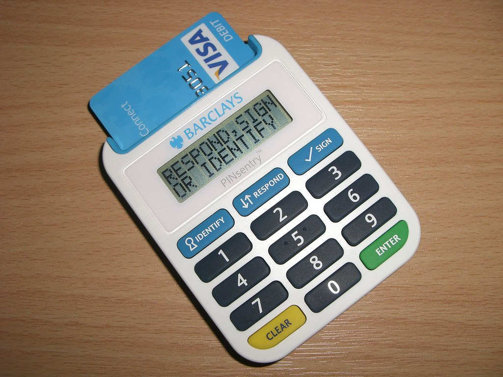 Barclays Pinsentry Card Reader I Inexpediently Got A New