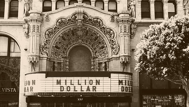 Million Dollar Theatre Old Downtown La Ca Usa Flickr Photo Sharing