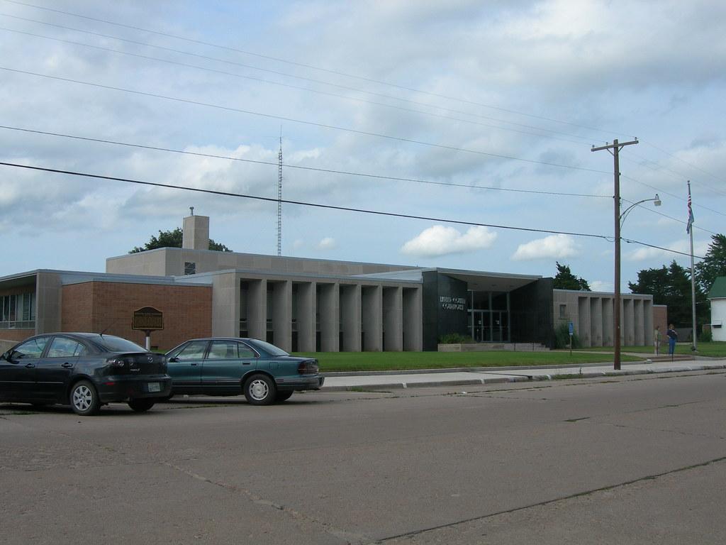 Barber County Court House Medicine Lodge Kansas Erected