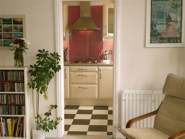 My Ikea kitchen from living room | Maxine Sheppard | Flickr