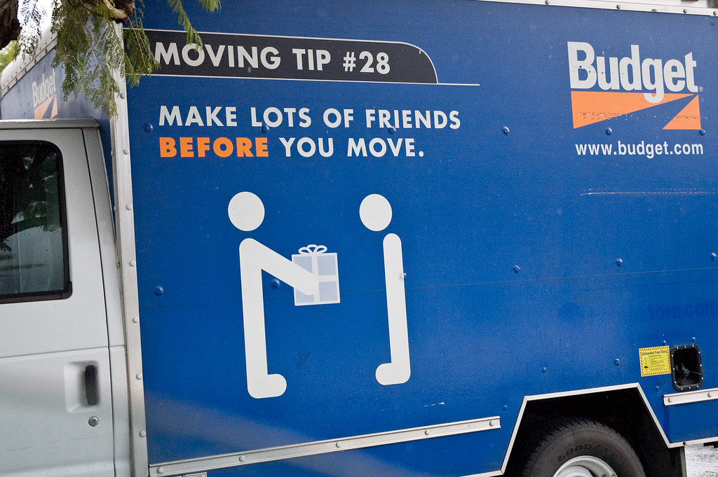 Moving tip 28 make lots of friends before you move the for Moving into a new build house tips