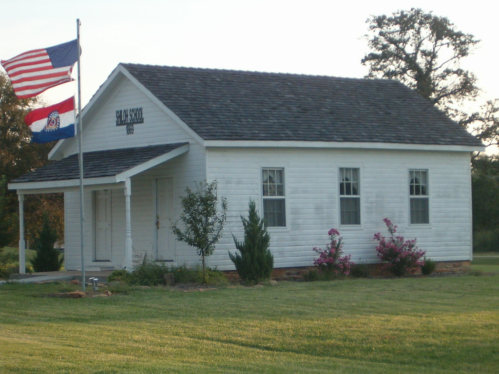 Shiloh School House Liberal Missouri | This one room