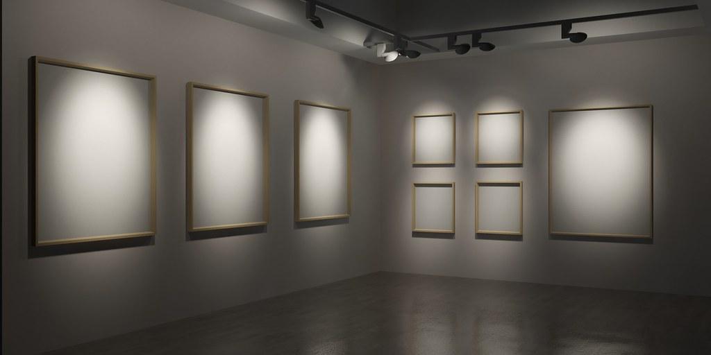 Gallery Lighting 3dsmax rendering | 24+14deg Torus 100FX