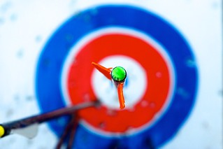 arrow on target | by happy via
