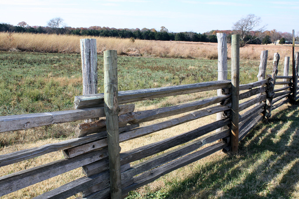 Stacked rail fence this is another type of