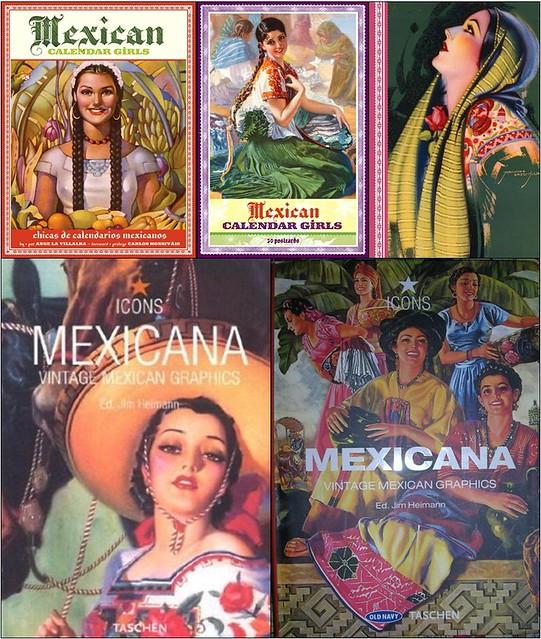 May Calendar Girl Book Free : Mexican graphics calendar girls book postcards