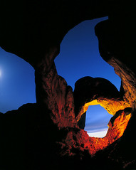 Double Arch - night exposure