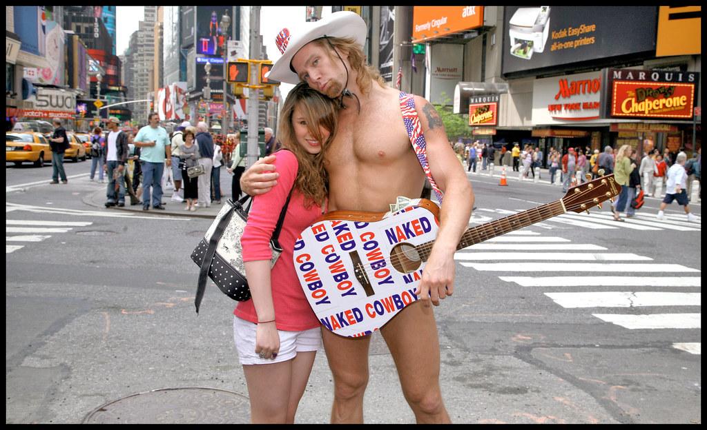 New York: Der Naked Cowboy will US-Präsident werden - WELT