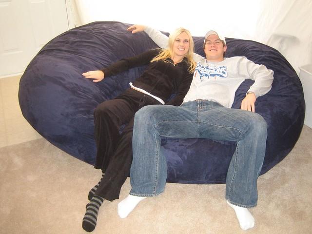 ... Huge Bean Bag Chair LoveSac Love Sac Comfy Sack Fombag | by ComfySacks  sc 1 st  Flickr & Huge Bean Bag Chair LoveSac Love Sac Comfy Sack Fombag | Flickr
