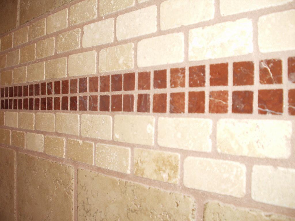 White Porcelain Tile In Kitchen