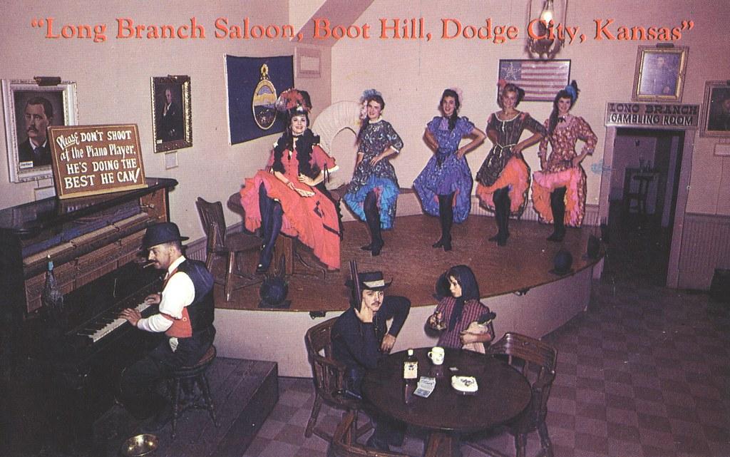Long Branch Saloon on Boot Hill - Dodge City, Kansas   Flickr