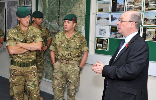 Alistair burt talks to royal marines flickr photo sharing - Royal marines recruitment office ...