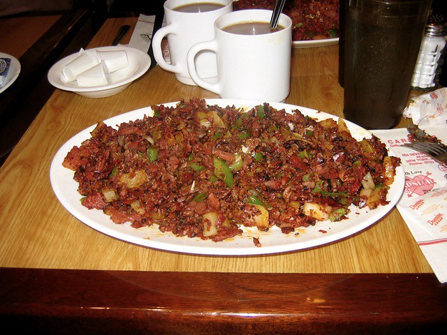 Pastrami Hash at Carnegie Deli | Flickr - Photo Sharing!