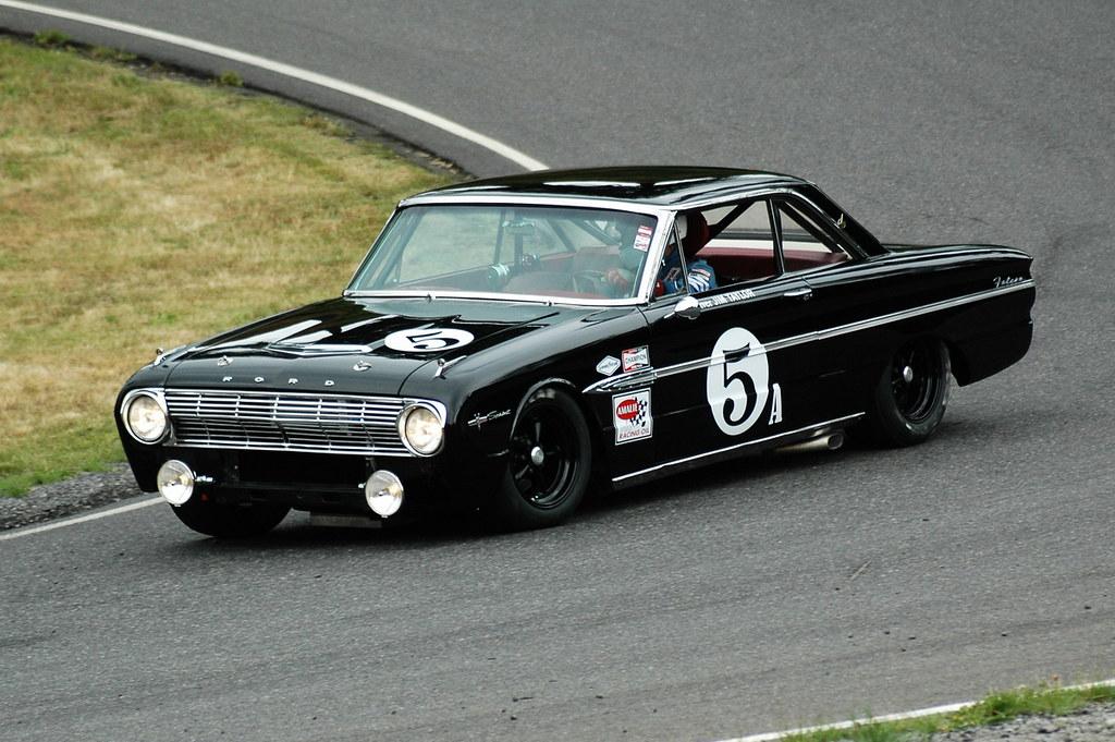 Mustang Road Race Car