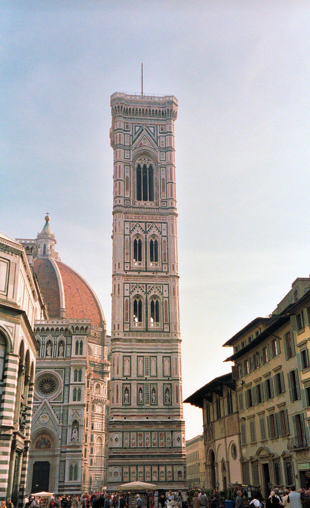 Bell Tower Of Giotto Florence Tuscany Italy Giotto S