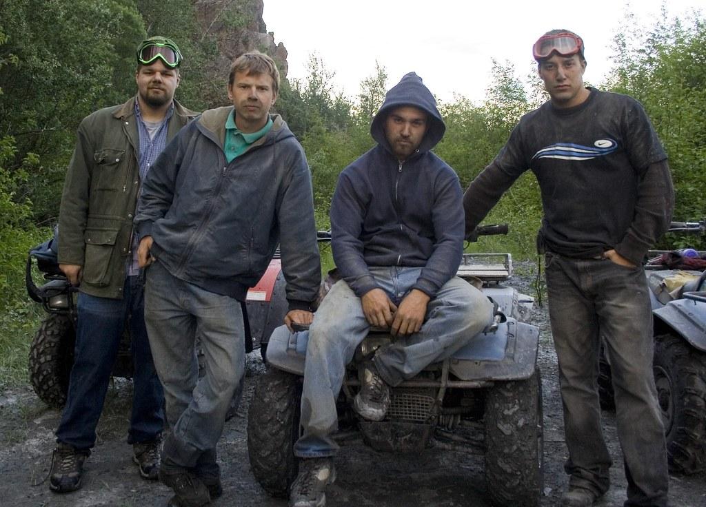 men in alaska