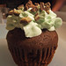 Chocolate Mint Chip Cupcake