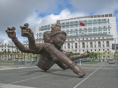 Zhang Huan's Three Heads Six Arms | by tofuart
