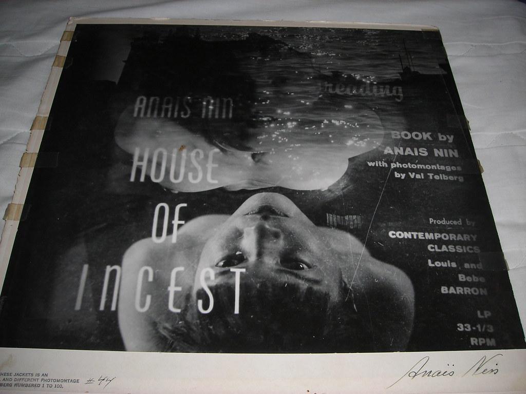 house of incest anais nin