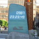 Vancouver 2010 Countdown Clock, Vancouver Art Gallery