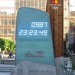 Vancouver 2010 Countdown Clock, Vancouver Art Gallery